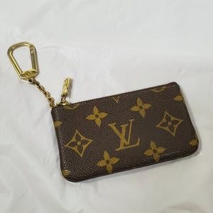 Authentic Louis Vuitton key pouch card holder